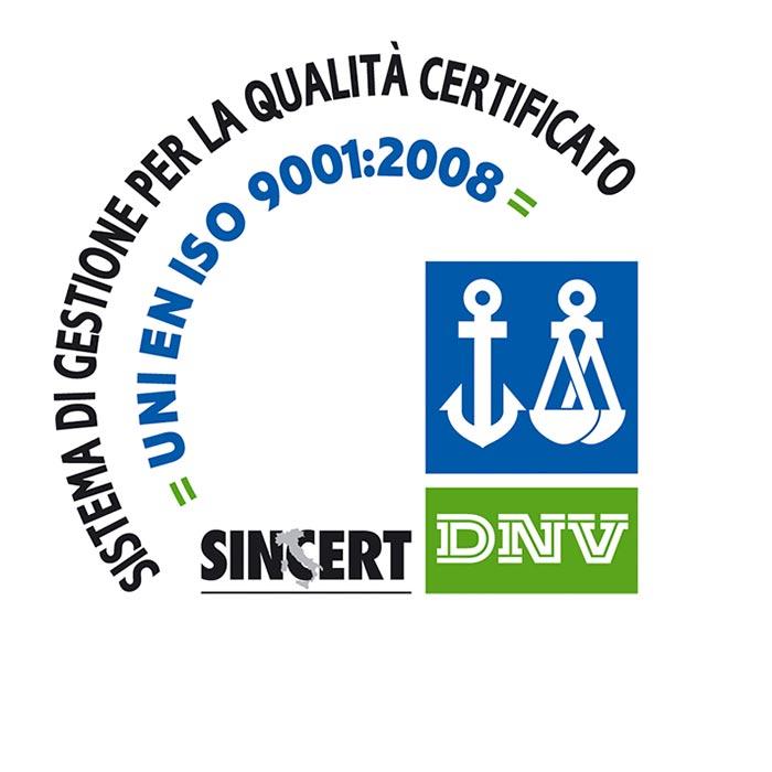 Laipe certificazione ISO 9001:2008